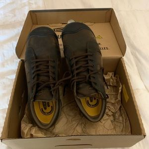 Keen men's utility leather shoes